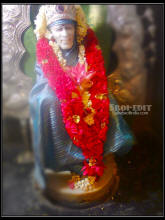 If you cast your burden on me, I shall surely bear it. - Sai Baba
