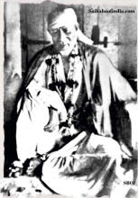 Original photograph of Shirdi Sai Baba