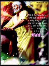 handi-shirdi-sai-photo-Shirdi Sai Baba Says-ABOUT-THE-DESIRE-OF-MONEY