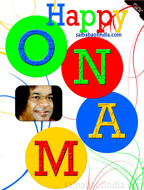 sathya sai baba onam wallpaper greeting card