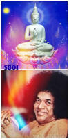 Buddha Poornima - Peace comes from within. Do not seek it without -buddha-sathya-sai-baba