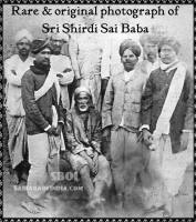 Rare & original photograph of Sri Shirdi Sai Baba