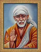 Sai Baba painting shared by Sai Artist & SBOI group member Kouwshik.
