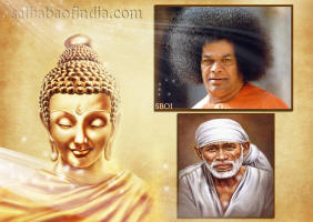 Buddha Poornima wallpapers - Sai Baba
