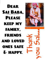 Thank You Sai Baba