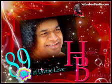89th Birthday of Bhagawan Sri Sathya Sai Baba
