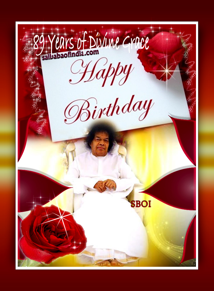 89th Birthday Celebrations Sai Baba Of Indias Weblog