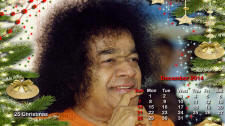 Sri Sathya Sai Photo Calendar - Dec. 2014
