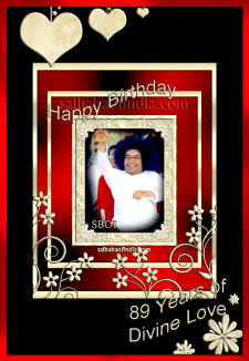 Sri Sathya Sai Baba Birthday