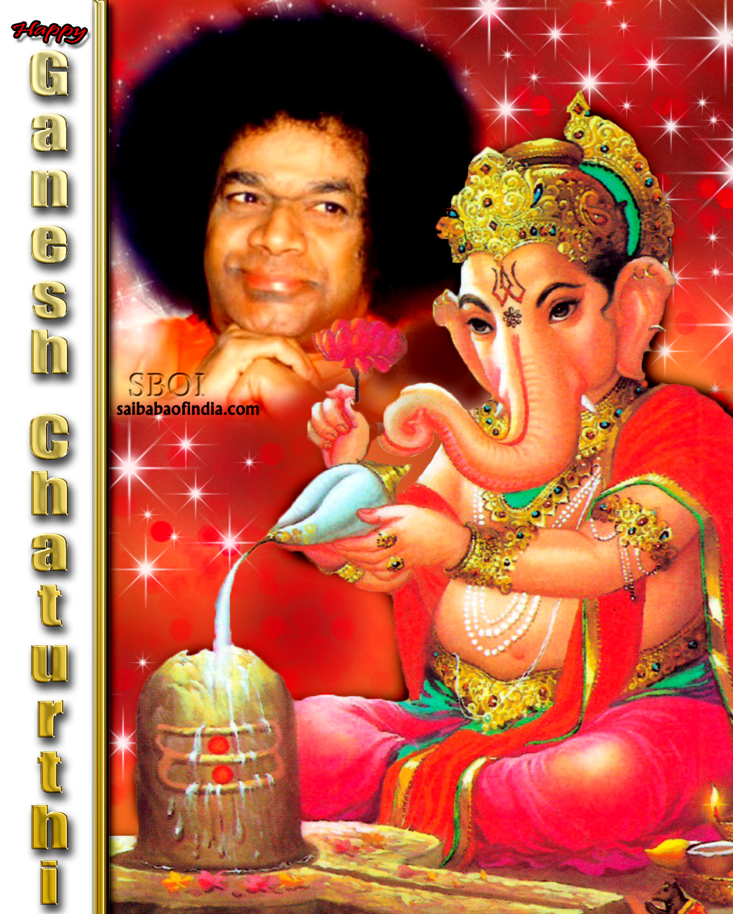 PHOTOS & VIDEO: Sathya Sai Baba- Ganesha Chaturthi