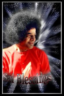Sri Sathya Sai Baba Photo blessing