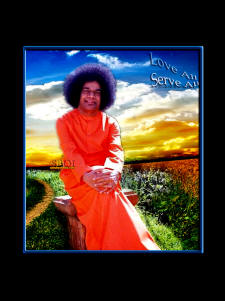sathya sai baba wallpaper love all serve all