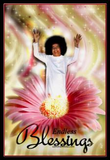 ENDLESS BLESSINGS SATHYA SAI BABA