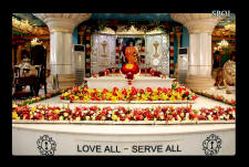 Sri Sathya Sai Baba Maha Samadhi Photo