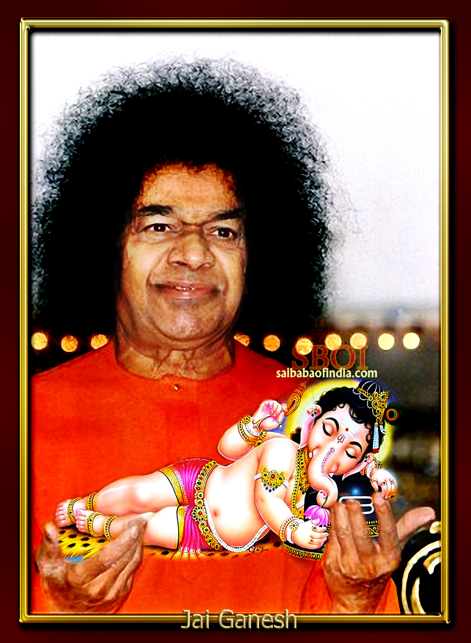 PHOTOS & VIDEO: Sathya Sai Baba- Ganesha Chaturthi - Latest