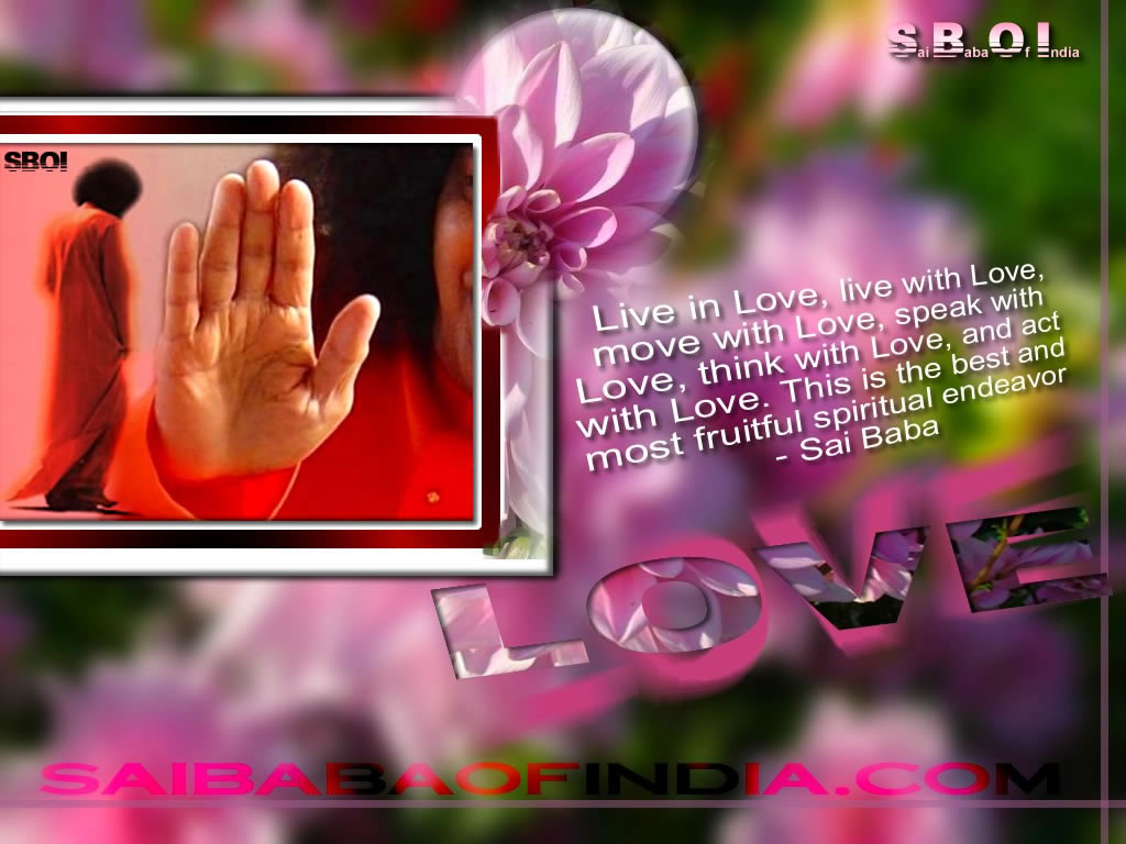 Sai Baba Love Quotes