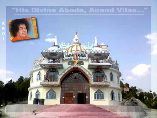 Anand Vilas awaits His Sanctifying Touch