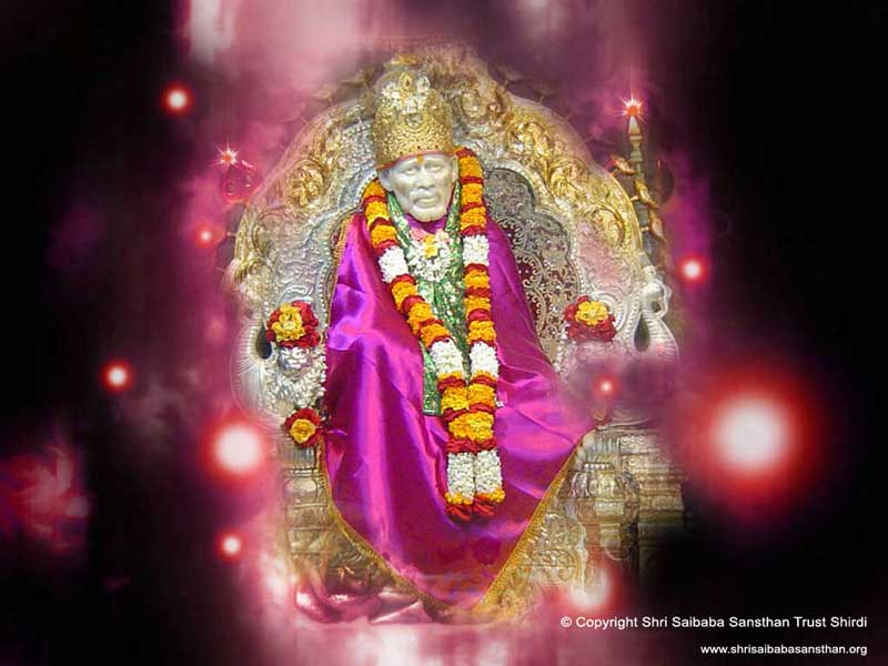 New Shirdi Sai Baba Wallpapers Released On Sansthans Official Website