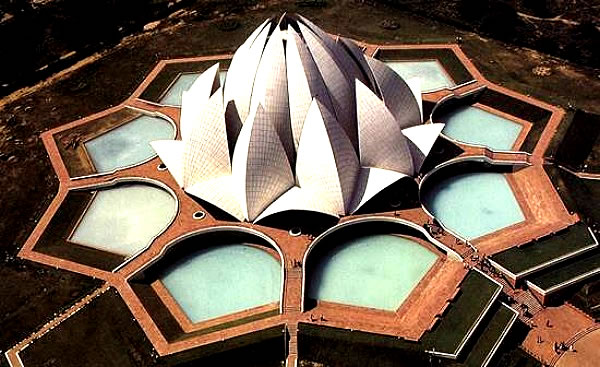 Bhagawan visits �Bahai� Lotus Temple�April, 12, 2010 � Photos & Update from