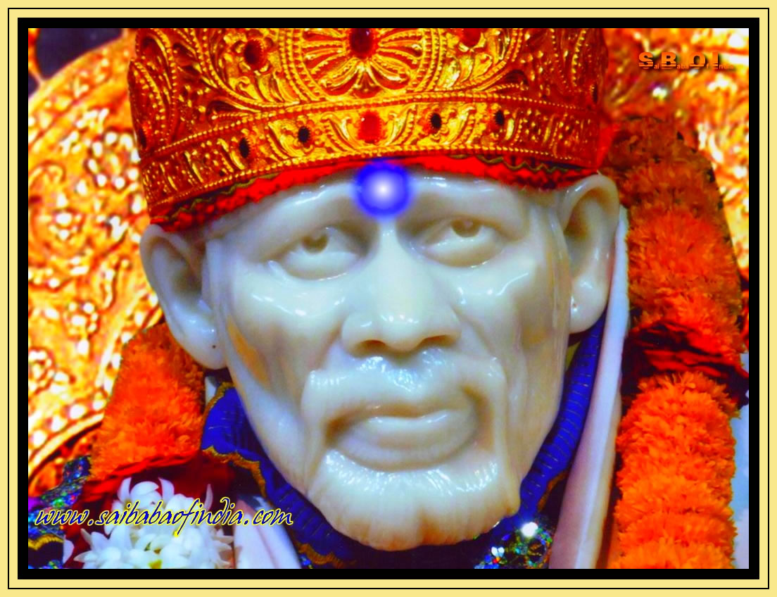 gallery for lord sai baba wallpapers