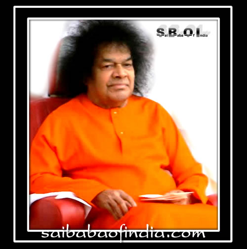 Sri Sathya Sai Baba, our beloved Swami