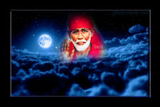 shirdi sai baba blessing - clouds
