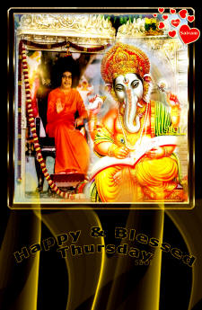 thursday-Bhagwan-ganesha-sathya-sai-baba-samadhi-photos