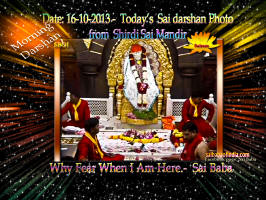 Shirdi Sai Baba Maha Samadhi Mandir latest Photos Daily Updates!