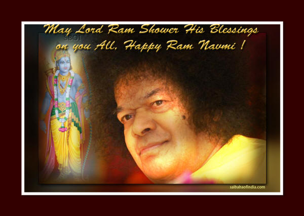 Wallpapers - Sai Baba theme Ramanavami Greeting cards