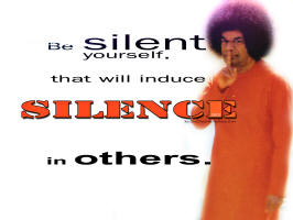 2-Be-silent-yourself-that-will-induce-silence-in-others-sathya-sai-Baba