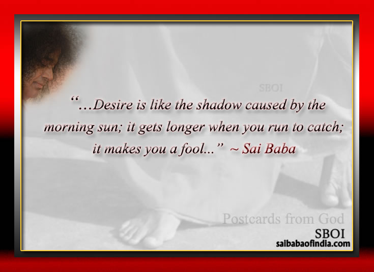 Postcards from God  - Bhagawan Sri Sathya Sai Baba's Maxims - Quotes - Sayings