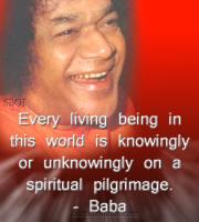 Every-living-being-on-a-spiritual-pilgrimage-sai-baba