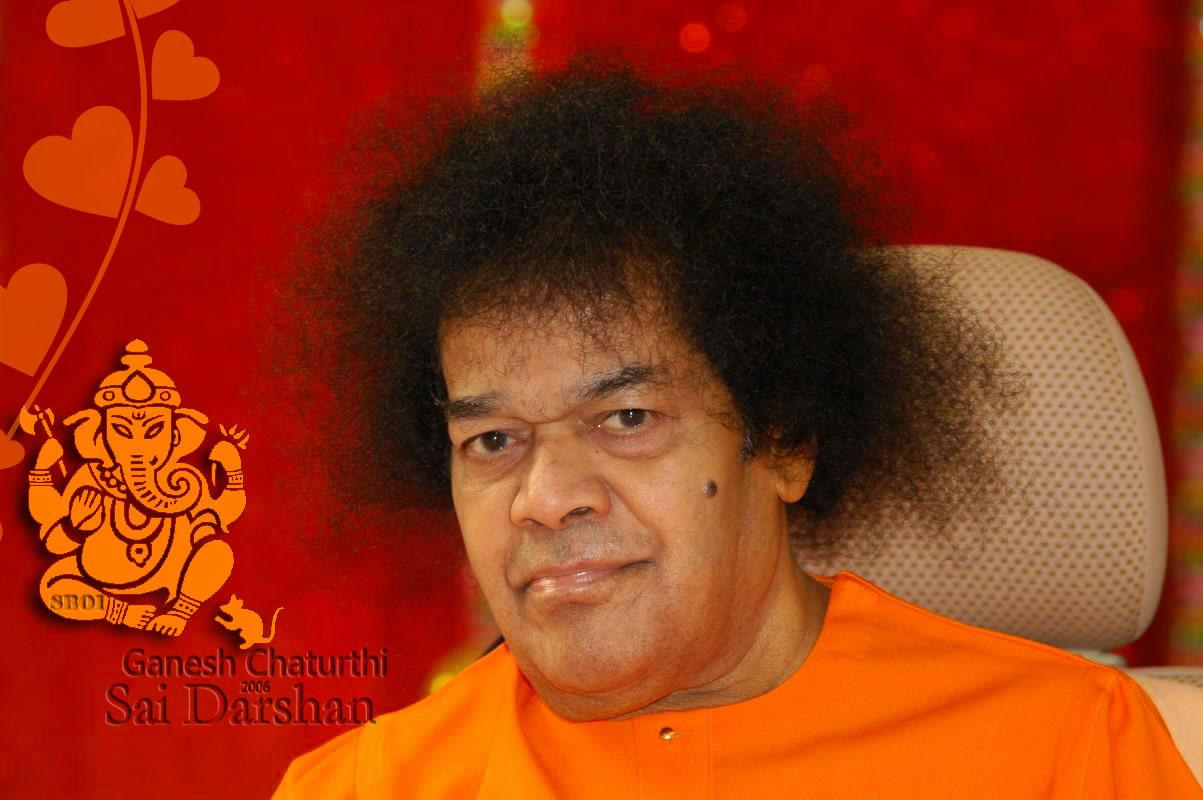 Ganesh-Chaturthi-sri-sai-baba-sathyasai-divine-look. - Ganesh-Chaturthi-sri-sai-baba-sathyasai-divine-look