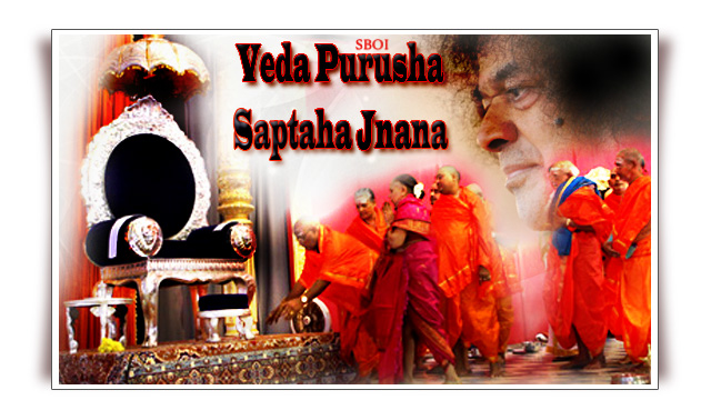 Veda Purusha Saptaha Jnana Yajna -Watch the Live Video Webcast of the Proceedings of Dasara Celebrations