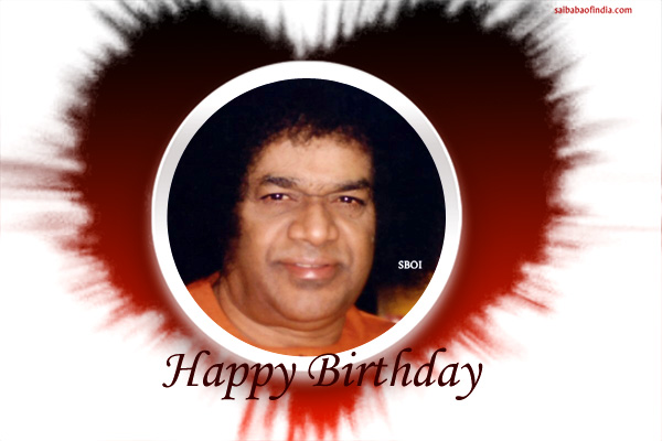 RI SATHYA SAI BABA HAPPY BIRTHDAY