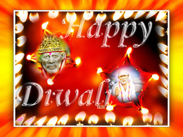 shirdi-sai-baba-Lamp-Diwali-Wallpapers