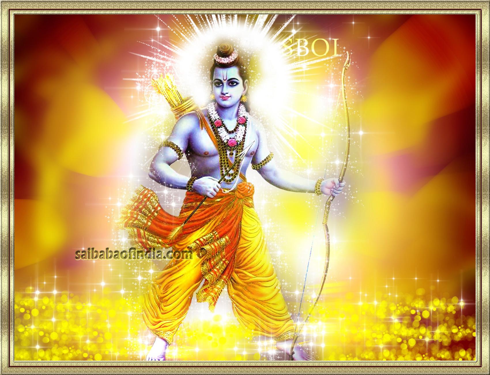Wonderful Wallpaper Lord Ram Darbar - lord-rama-wallpaper-with-bow-and-arrow-ramanavami  Image_97554.jpg