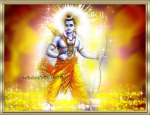 Ram bhagawan - sri Ram chandra with bow and arrow