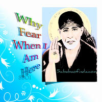 why fear when i am here shirdi saibaba - sai baba of shirdi sboi wallpaper