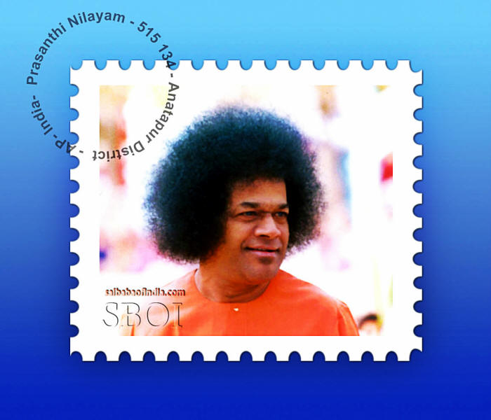 postage stamp sri sathya sai baba -A surprise letter of comfort from Swami