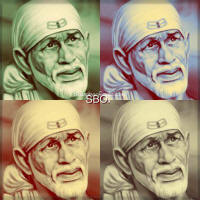 shirdi sai baba poster for cell phone wallpaper