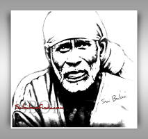 sri-shirdi-sai-baba-sketch