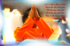 the last namaskar by sri sathya sai baba- swami-sri-sathya-sai-baba-folded-hands