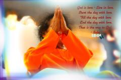 the last namaskar by sri sathya sai baba- swami-sri-sathya-sai-baba-folded-hands