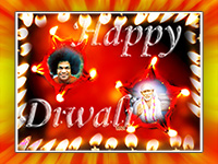 sai-baba-Lamp-Diwali-Wallpapers