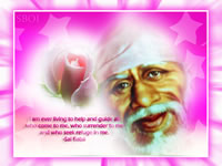 shirdi sai baba maxim-quote-saying wallpaper photot I am ever living to help and guide all who come to me, who surrender to me and who seek refuge in me.