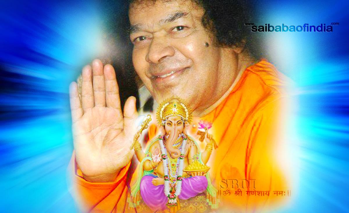 Photos Video Sathya Sai Baba Ganesha Chaturthi Latest Vinayaka