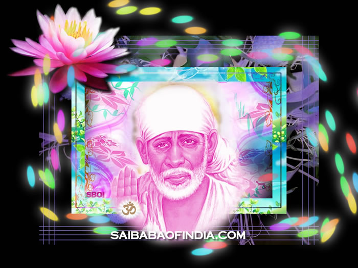 SHIRDI SAI MOODS - Derived from Sri Khaparde's Shirdi diary & references from other prominent Shirdi devotees - For wallpaper download click on the photo