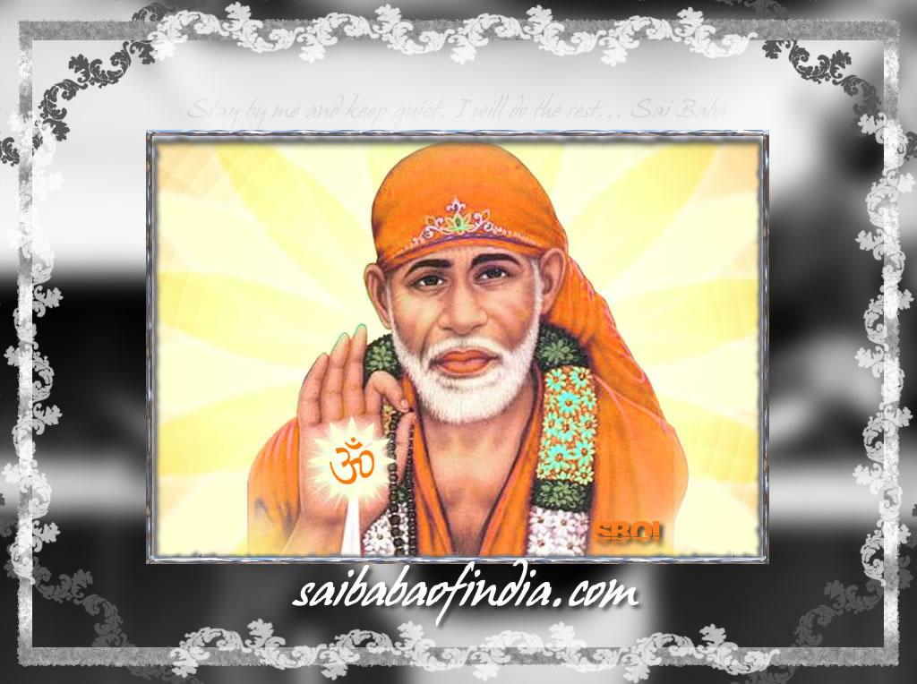 Wallpapers Of Sai Baba. Shirdi Sai Baba Of India