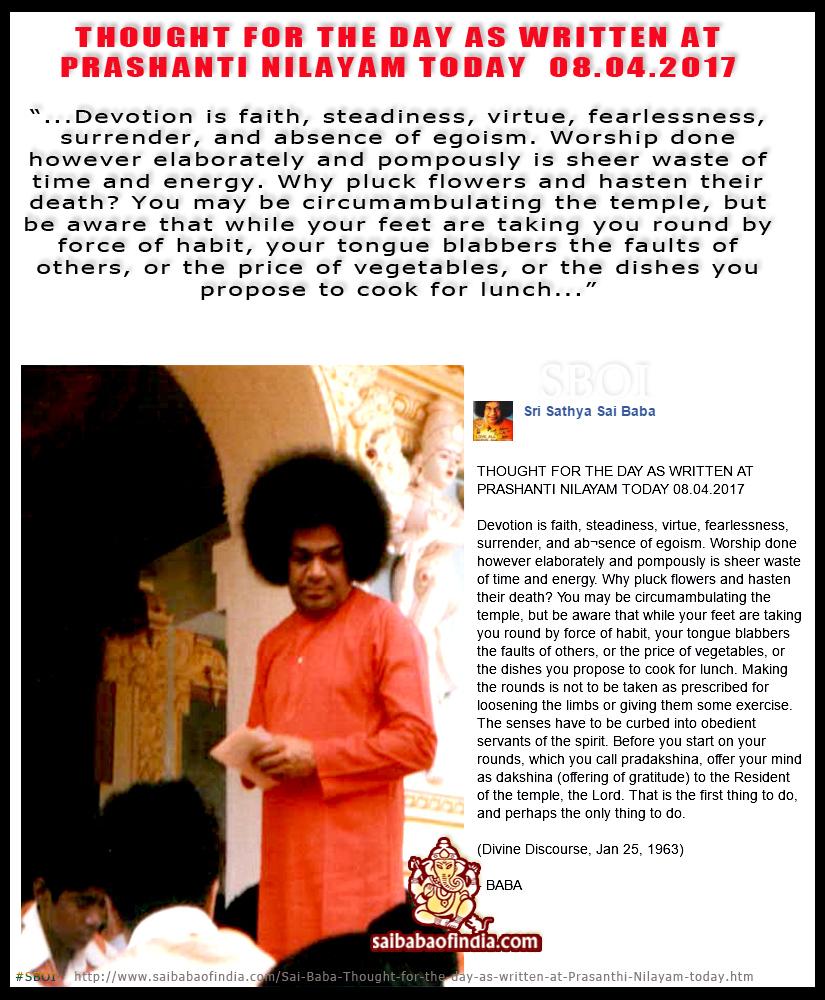 sathya sai baba teachings pdf